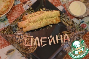 Рецепт Блины с крабовым мясом и болгарским перцем