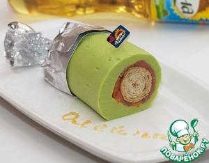 """Рецепт Блинчик-наоборот """"А ля мороженое"""""""