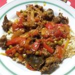 Острый овощной гарнир к мясу