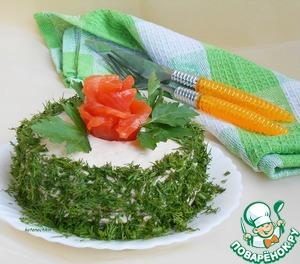 Рецепт Гречневый блинный торт