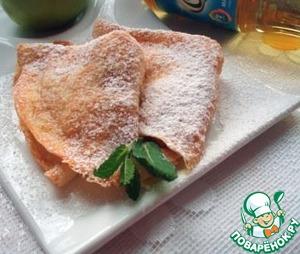 Рецепт Сырно-яблочная начинка для блинчиков