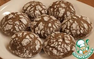 Рецепт Мраморное печенье-видео рецепт