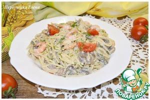 Готовим домашний рецепт приготовления с фотографиями Спагетти с соусом