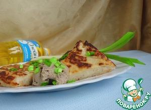 Рецепт Боксти с сырно-грибным паштетом