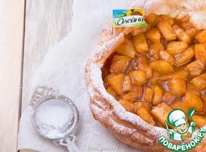 Рецепт Паннекук с грушами в сливочной карамели