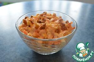 Рецепт Морковно-сырный салат