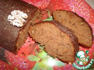 Рецепт Кекс ореховый с какао