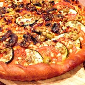 Готовим Пицца овощная вкусный рецепт с фото