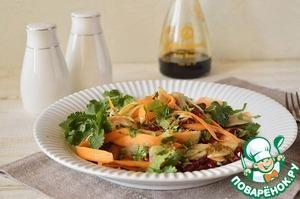 Рецепт Салат из моркови с топинамбуром