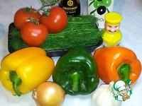 Белая фасоль с овощами и морепродуктами ингредиенты