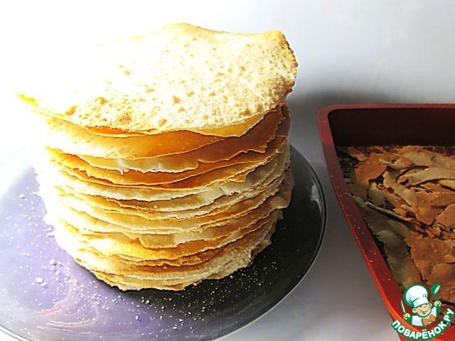 Рецепт большого наполеона фото