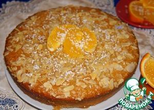 Рецепт Африканский пирог с кокосом и апельсином