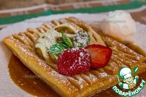Рецепт Десерт из яблок и слоёного теста