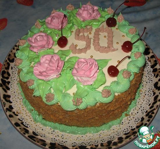 Тема торт шоколадница - рецепт с фото