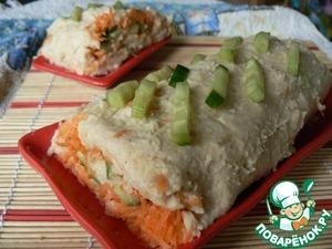 Рецепт Рулет из фасоли с овощами