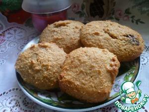 Рецепт Овсяное печенье с творогом