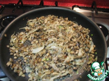 грибной салат простой