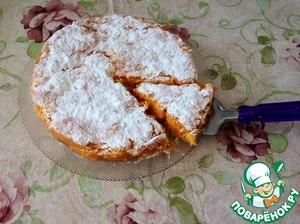 Рецепт Тыквенно-морковный пирог с лимоном
