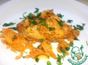 Рецепт Курица в сметанно-томатном соусе