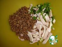 Салат с пестрой чечевицей ингредиенты