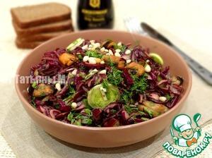 Рецепт Салат из маринованной свеклы и мидий