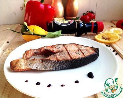Горбуша на сковороде гриль рецепты с фото
