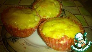 Рецепт Закусочные кексы из куриных грудок