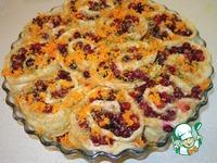 Клюквенные булочки-пирог ингредиенты