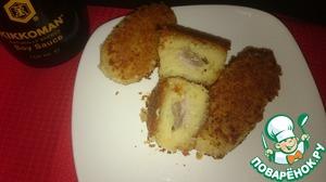 Рецепт Котлеты картофельно-чечевичные с начинкой