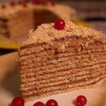 Вафельный торт диетический