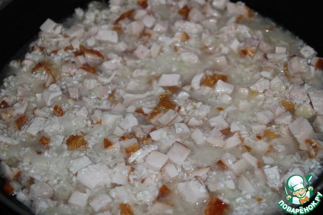 Как готовить Ризотто с копченой грудинкой вкусный пошаговый рецепт с фотографиями #3