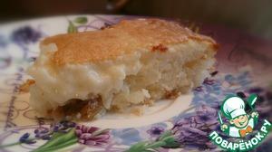 Рецепт Рисовый пирог на завтрак