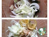 Горбуша на гриле ингредиенты