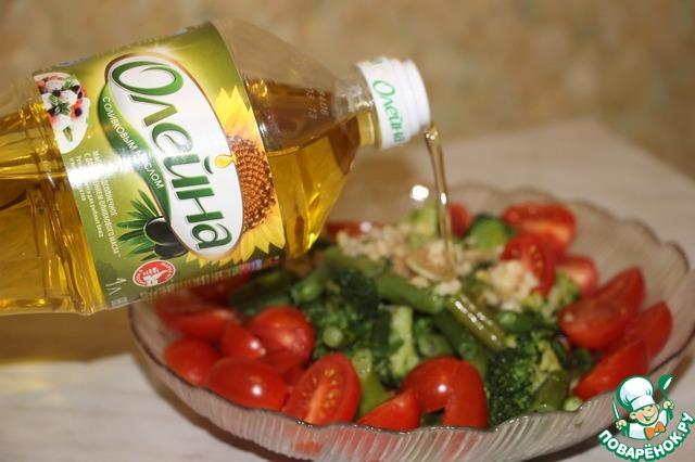 Салат с помидорами и грибами пошаговый рецепт приготовления с фотографиями как приготовить #3