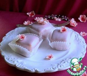 Рецепт Пирожные с сахарной помадкой