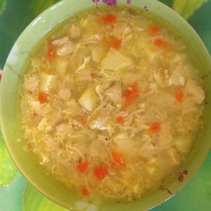 """Рецепт Суп с куриным филе """"Светленький"""""""