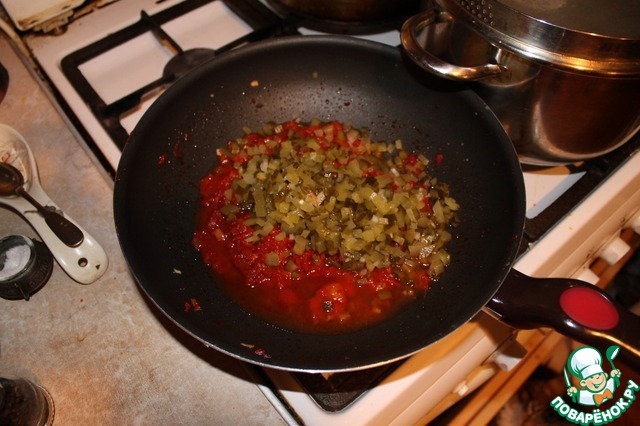 Вкусная солянка мясная пошаговый рецепт с