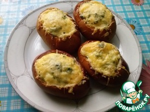 Рецепт Яичница в булочке