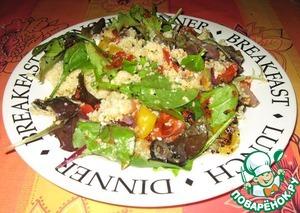 Рецепт Магрибский салат с соусом Харисса