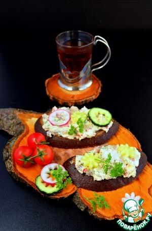 Рецепт Бутерброды для завтрака