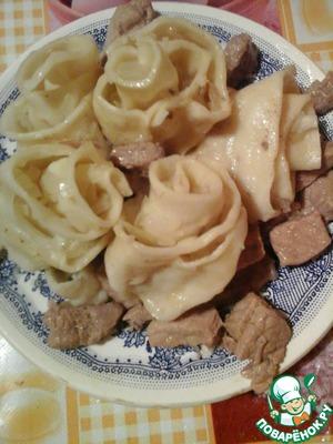 Рецепт Розочки с мясом