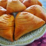 Узбекская слоеная самса