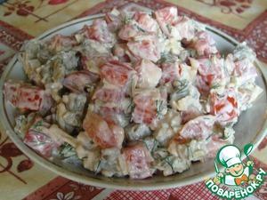 Салат «Фарида» домашний рецепт приготовления с фото пошагово готовим