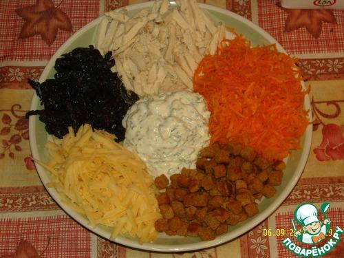 Салат русские горки рецепт