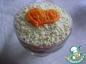 Как готовить Салат «Пикантный» домашний пошаговый рецепт с фотографиями