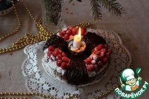 Рецепт Рождественский веночек