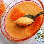 Легкий мандариновый десерт