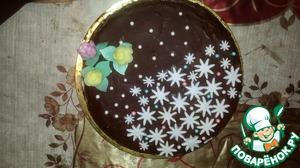 Рецепт Бисквитный торт с грецкими орехами