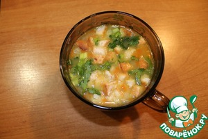 Гороховый суп с копчёностями простой рецепт приготовления с фотографиями как готовить