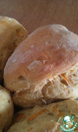 Рецепт Булочки луково-морковные с начинкой